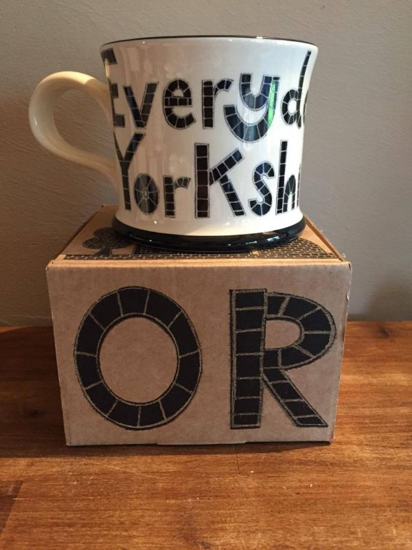 Moorland Pottery 'Every Day Is Yorkshire Day' Gift Boxed Mug-1956