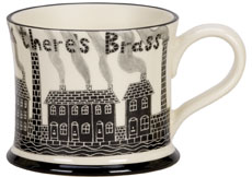 Moorland Pottery 'Where There's Muck There's Brass' Gift Boxed Mug-0