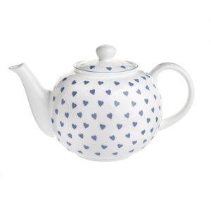 Nina Campbell Blue Hearts Teapot -0