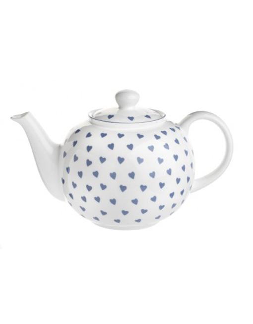 Nina Campbell Blue Hearts Teapot -1142