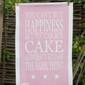 Green & Co Cake Happiness Tea Towel-0
