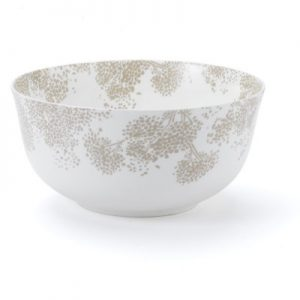 Nina Campbell Large Grey Woodsford Serving Fruit Bowl -0