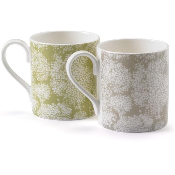 Nina Campbell Set Of 2 Woodsford Mugs-0