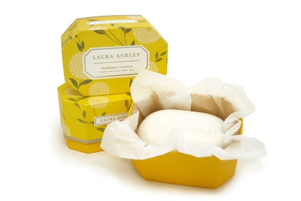 Laura Ashley Champagne Organza Soap-1290