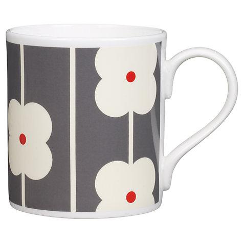 Orla Kiely Abacus Grey Multi Flower Mug -0