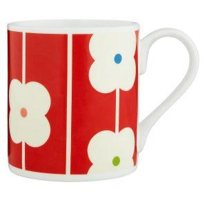 Orla Kiely Abacus Red Mug -0
