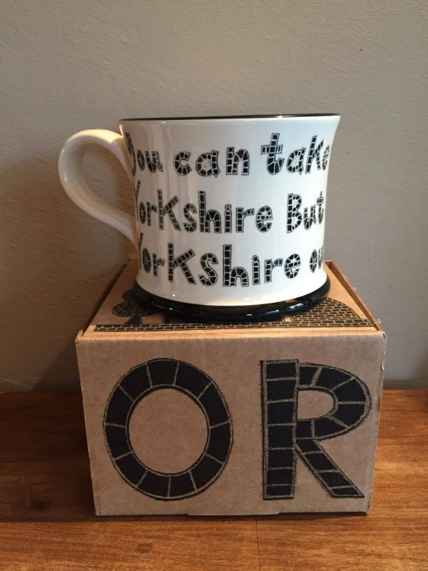 Moorland Pottery Lad Out Of Yorkshire Mug Gift Boxed-1953