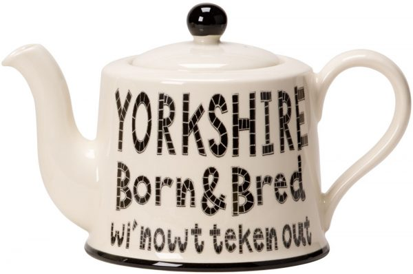 Moorland Pottery Yorkshire Born & Bred Teapot -0
