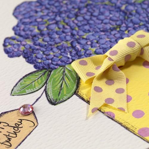 Janie Wilson Birthday Wishes to a Great Mum Card-1461