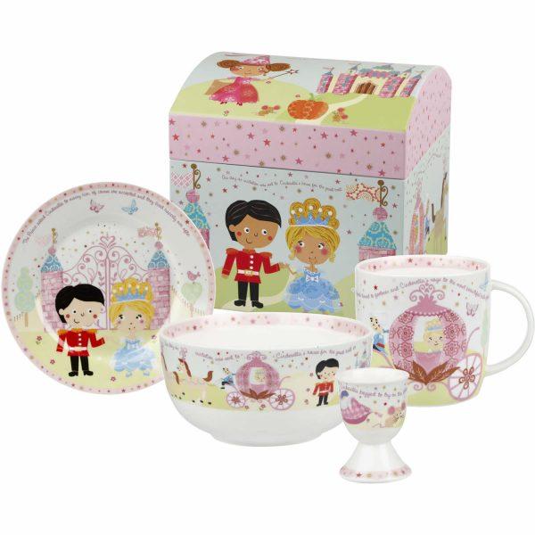 Little Rhymes Cinderella Breakfast Set Gift Boxed-0