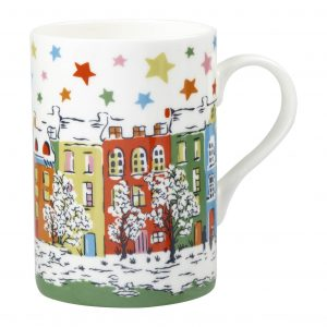 Cath Kidston Christmas Townhouse Classic Cedar Mug-0