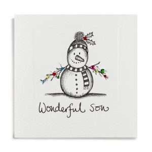 Janie Wilson Wonderful Son Christmas Card-0