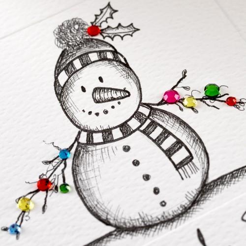 Janie Wilson Wonderful Son Christmas Card-1494
