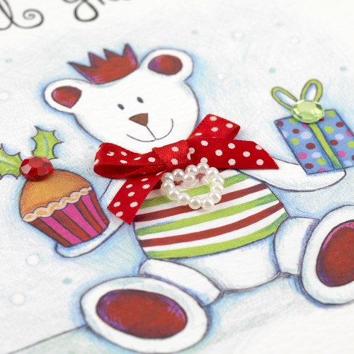 Janie Wilson Special Grandson Christmas Card-1488