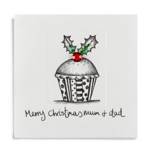 Janie Wilson Merry Christmas Mum & Dad Card-0