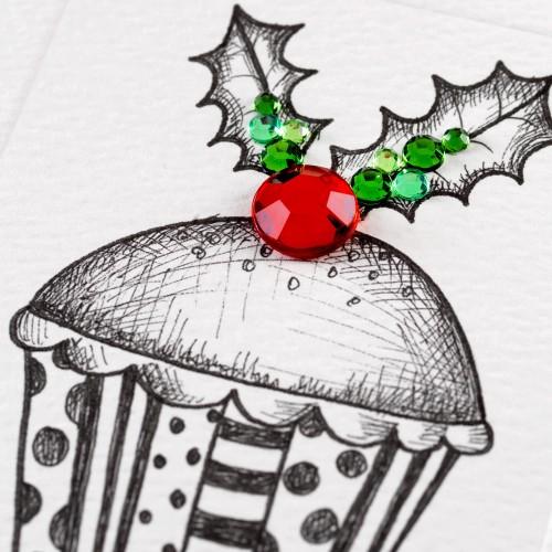 Janie Wilson Merry Christmas Mum & Dad Card-1504