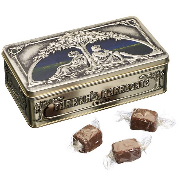 Farrah's Of Harrogate Art Nouveau Luxury Fudge in Tin-0