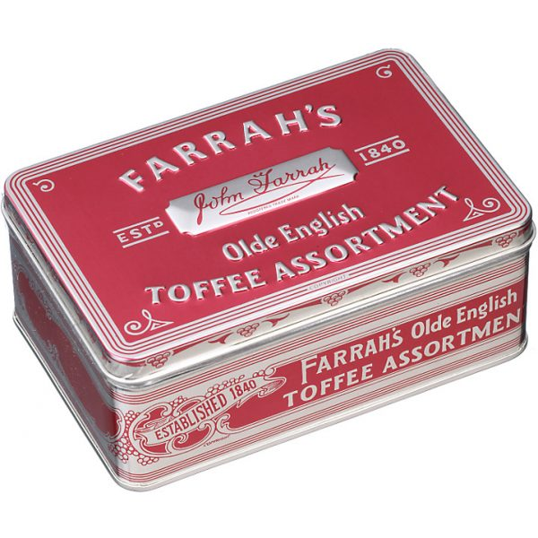 Farrah's Of Harrogate Olde English Toffee Assortment In Tin 275g-0
