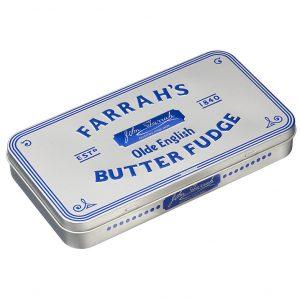 Farrah's Of Harrogate Olde English Butter Fudge In Tin-0
