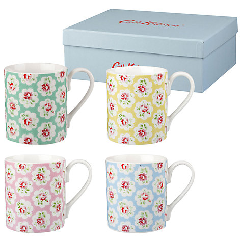Cath Kidston Provence Multi Mugs Set of 4 Gift Boxed-0