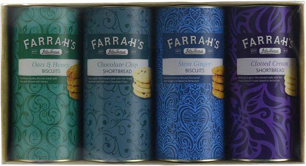 Farrah's of Harrogate Four Drum Biscuit Selection-0