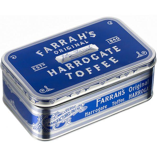 Farrah's Of Harrogate Large Original Crescent Toffee Tin, 350g-0