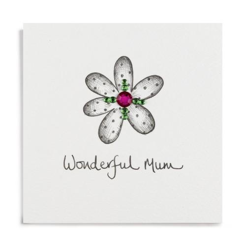 Janie Wilson Wonderful Mum Card-0