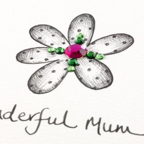 Janie Wilson Wonderful Mum Card-1596