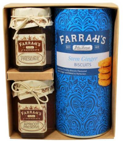 farrahs ginger biscuit trio