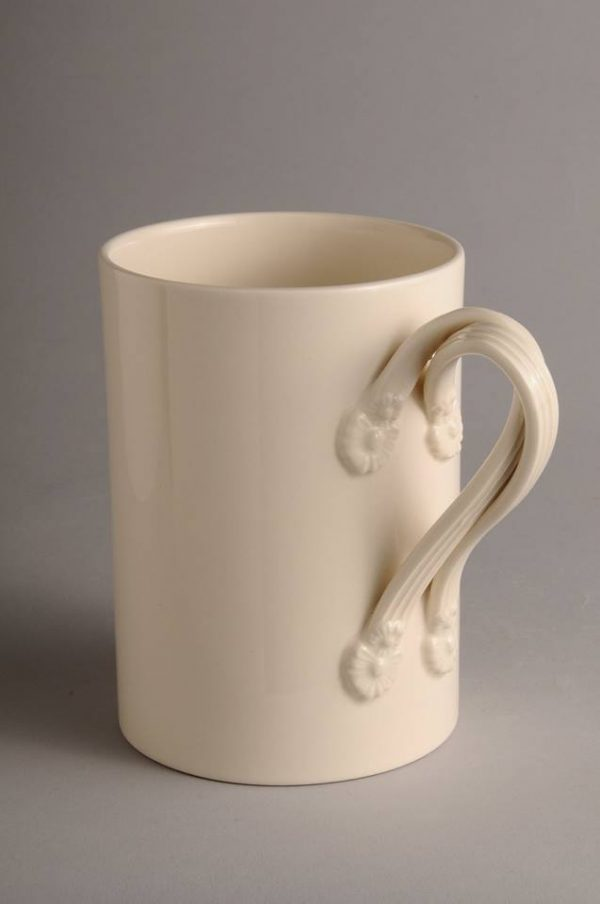Hartley Greens Leeds Pottery Large Twisted Handle Mug-0