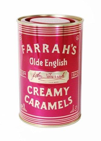 Farrah's of Harrogate Toffee Olde English Creamy Caramel In Tin-0