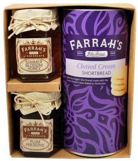 farrahs shortbread biscuit gift set