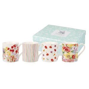 Collier Campbell Painted Garden Mugs Boxed Set-0