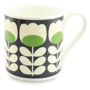 Orla Kiely Green Tulip Stem Large Mug-0