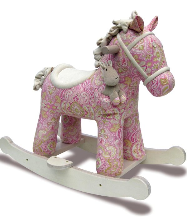 Little Bird Told Me Pixie & Fluff Infant Rocker Rocking Horse-0