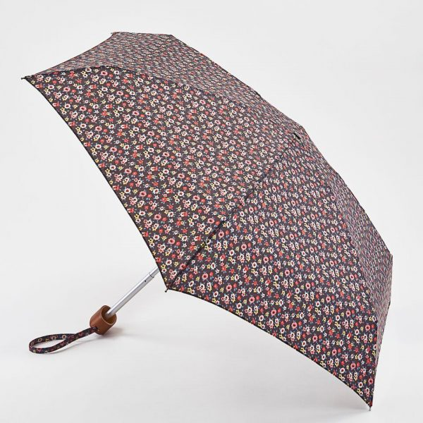 Cath Kidston Tiny Rose Charcoal Umbrella-0