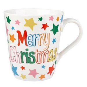Cath Kidston Merry Christmas White Stars Stanley Mug-0