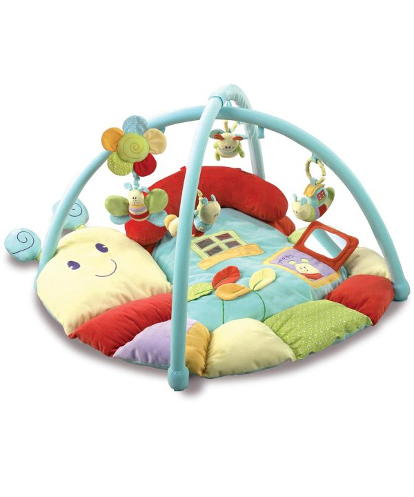 Little Bird Told Me Softly Snail Multi-Activity Baby Playmat and Gym-0