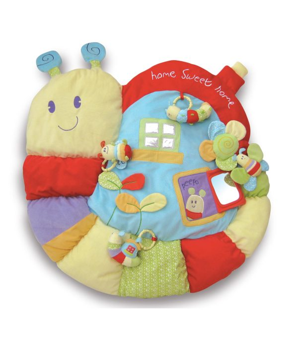 Little Bird Told Me Softly Snail Multi-Activity Baby Playmat and Gym-1798