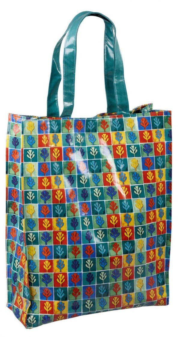 Dee Hardwicke Oak Leaf Shopper Shopping Bag-0