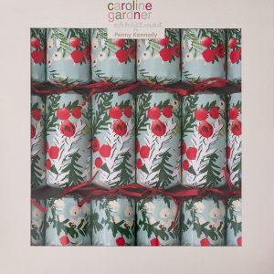 Caroline Gardner Snowy Floral Christmas Crackers-0