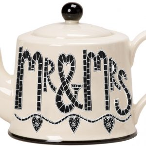 Moorland Pottery Mr & Mrs Teapot -0