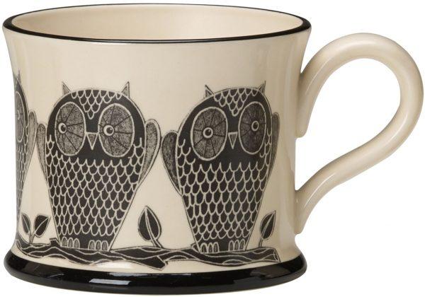 Moorland Pottery Owl Mug-0