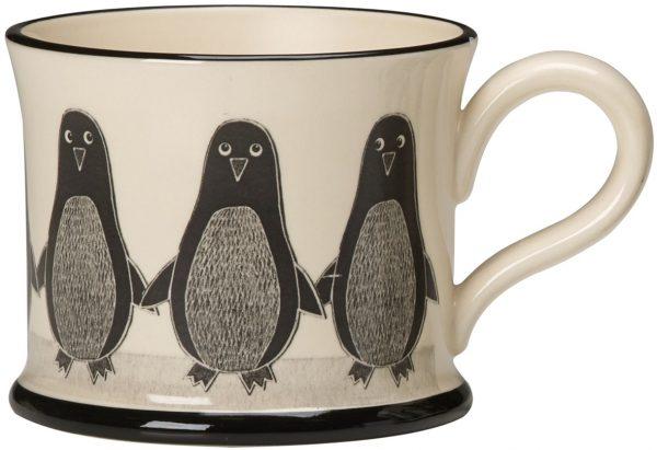 Moorland Pottery Penguin Mug-0