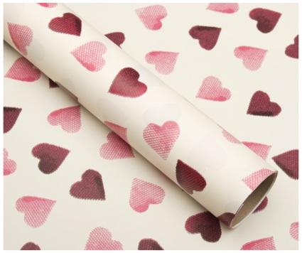 Emma Bridgewater Pink Heart Roll Wrap-0
