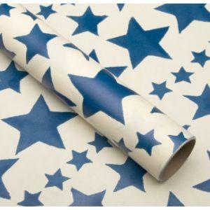 Emma Bridgewater Blue Star Roll Wrap-0