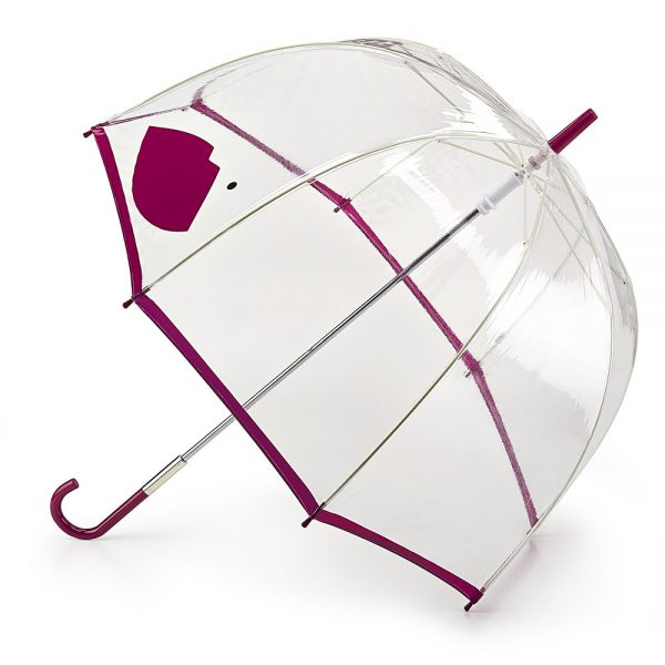 Lulu Guinness Abstract Lips Birdcage Umbrella-0