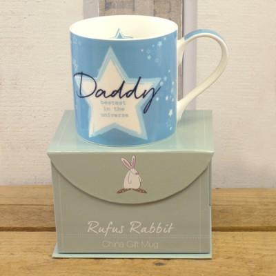 Rufus Rabbit Daddy Mug Gift Boxed-0