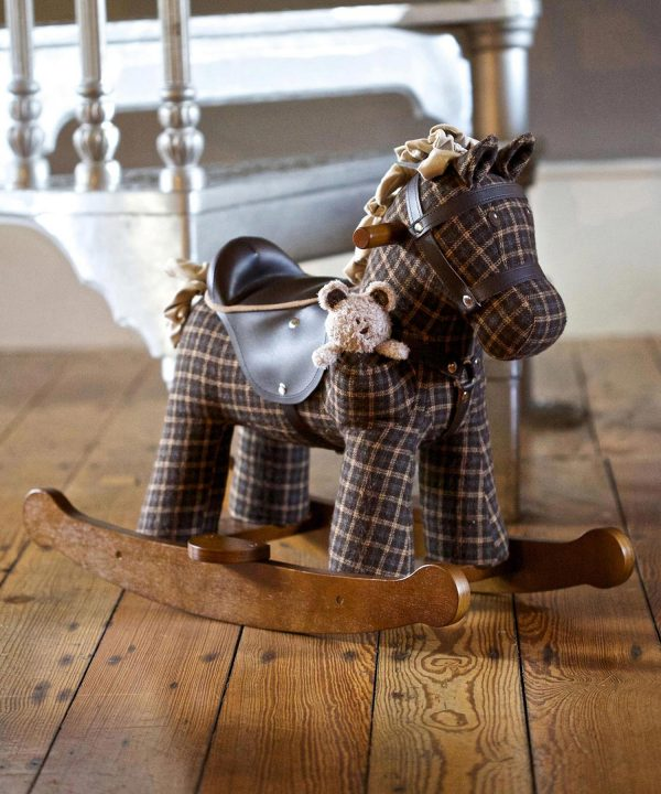 Little Bird Told Me Rufus & Ted Rocking Horse-0