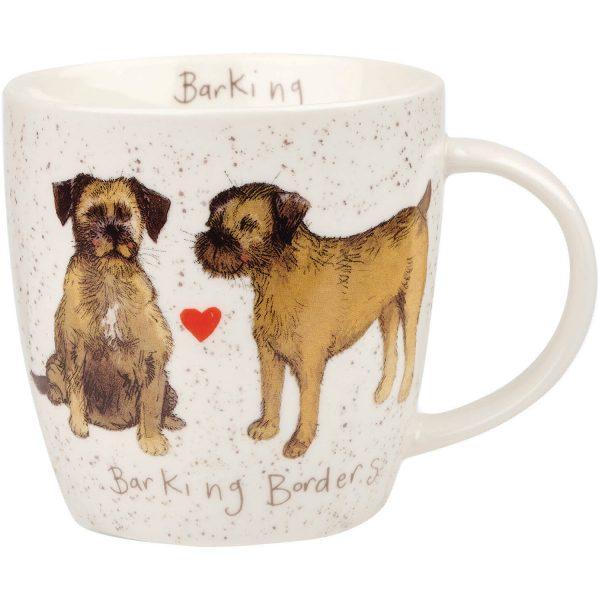 Alex Clark Barking Borders Mug -0
